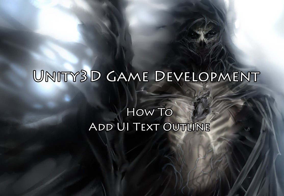 Unity3D How To Add UI Text Outline